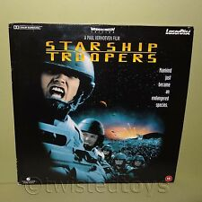 PIONEER TRISTAR STARSHIP TROOPERS WIDESCREEN EDITION LASER DISC LASERDISC PAL