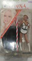 Jenna Jameson Sexy Santa White & Gold Adult Superstars Action Figure RARE 2003!