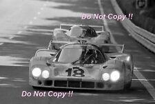 Pedro Rodriguez & Jackie Oliver Gulf Porsche 917 LH Le Mans 1971 Photograph 8