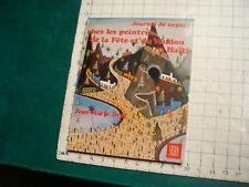 vintage book: chez les peintres de la Fete et du Vaudou en HAITI JEAN-MARIE DROT