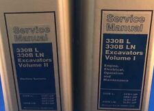 CAT Caterpillar 330 B L LN Hydraulic Excavator Service Repair Shop Manual Set