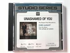 Studio Series - Chris August Unashamed of You - accompaniment track christian cd