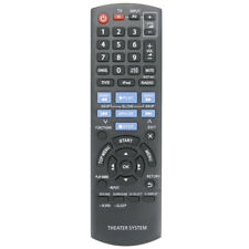 New Replaced Remote Control N2QAYB000702 for Panasonic DVD Home Theater SC-XH170