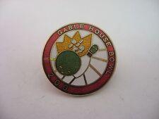 """Vintage Pin Lapel Pin: GABLE HOUSE BOWL """"I DID IT!"""" 200"""