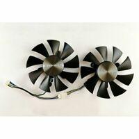 Grafikkarte 4-Draht-Steuerung Dual Lüfter Fan für ZOTAC GTX960 GTX1060 GTX1070