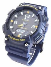 Solar Powered Casio Resin Dark Blue Sports Watch AQ-S810W-2AVDF