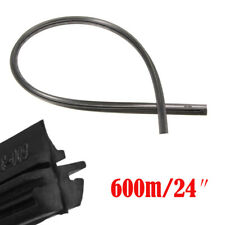 2X 24'' 6mm Car Seal Silicone Frameless Replace Windshield Wiper Blade Universal