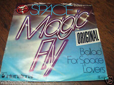 SPACE - MAGIC FLY b/w BALLAD FOR SPACE LOVERS - HANSA - 1977 GERMANY- 17775AT-EX