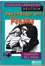 DAS PRASENT AUS PANAMA - SCHULER-LERNKRIMI DEUTSCH - COMPACT 2006 LINGUA TEDESCA