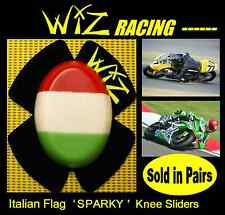 WIZ SPARKY ITALIAN FLAG KNEE SLIDERS