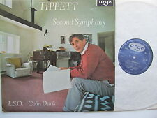 Symph No 2 Michael Tippett LSO Davis Argo 535 Mono England '67 Oval Label A1/A1