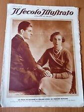 SECOLO ILLUSTRATO 1/1935 Le nozze del Duca Torlonia, Donne del circo
