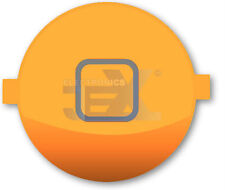 High Quality Gloss Light Orange Home Button for iPhone 4S/4GS 16GB/32GB/64GB