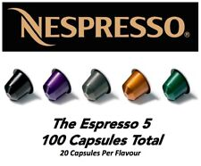 THE ESPRESSO 5 *Top 5 Nespresso x 100 Capsules*  (2 Sleeves Per Flavour)