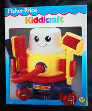 FISHER PRICE: KIDDICRAFT (1990). KIDDIVAC (BIG SIZE!) BRAND NEW IN BOX OLD STOCK