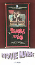 DRACULA AND SON Columbia Pictures Home Entertainment Christopher Lee vhs NO DVD!