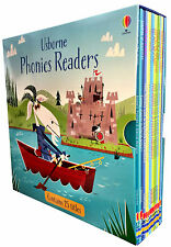 Usborne Phonics School Young Readers 15 Books Collection Set Read at Home NEW
