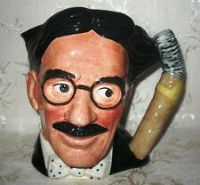 "Royal Doulton Toby Jug ""Groucho Marx"" Large D6710 ""The Celebrity Collection"""