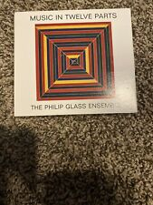 LOT 4 CD PHILIP GLASS PIANO CLASSICAL MUSIC IN TWELVE PARTS 12 THE ENSEMBLE