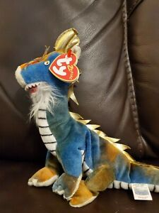 Ty Beanie Zodiac Collection 2000 Chinese Dragon Plush Stuffed w/tag Retired
