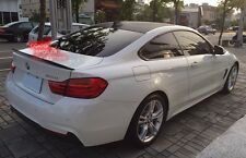 Carbon BMW 2014~2017 F32 4-series coupe performance type rear trunk spoiler @US