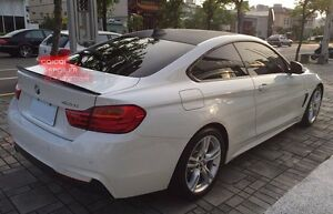 Carbon BMW 2014~2018 F32 4-series coupe performance type rear trunk spoiler ◎