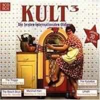 KULT 3 - DIE BESTEN INT. OLDIES 3 CD NEU