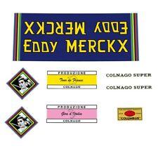 Eddy Merckx par COLNAGO Bicycle Decals Stickers N.730