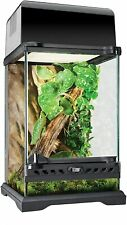 Tall Reptile Terrarium Cage Snake Lizard Habitat Glass Frog Iguana Waterproof