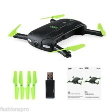 DHD D5 Wifi FPV 0.3MP Camera Foldable Selfie Drone 6-Axis Gyro RC Quadcopter BNF