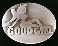 Belt Buckle Good Girl Angel Cool Naked Mudflap Girls Boucle de Ceinture