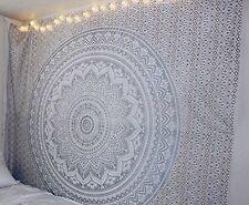 Wandteppich Groß Elefant Boho Mandala Wandtuch Psychedelic Wandbehang Indien