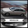 Mercedes E Class W212 S212 Chrome Rear Bumper Protector Scratch Guard S.Steel