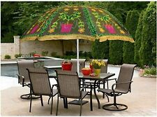 Traditional Indian Theme Wedding Decorative Large Umbrella Lawn Garden Parasols