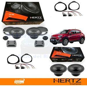 Hertz CK165 + CPX165 Casse Altoparlanti Ant + Post FIAT 500X