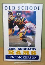 "ERIC DICKERSON ""Old School Los Angeles Rams"" 11x17 Poster"