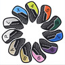 New 11PCS Golf Iron Club Headcovers Covers 4-Lw&X  for Taylormade Titleist Cobra