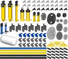 Lego Pneumatic PRO KIT (air,tank,cylinder,pump,tube,hose,switch,valve,piston,t)