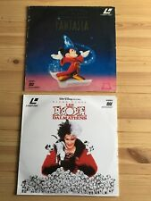 LASERDISC Disney Bundle PAL FRENCH