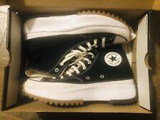 NEW Converse Mens Size 10 Run Star Hike Hi 166800C Black White Gum