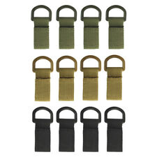 Magideal 12x Molle Bag Accessory Buckle Hooks Tactical Backpack Keychain