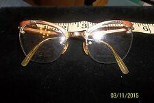 True Vintage Shuron Combination1/10 12 k gf Plastic Retro 60s Eyeglasses Frames