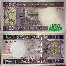 Mauritanie Mauritania Billet 100 Ouguiya 2011  UNC NEUF