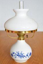 Vintage kerosene lamp Henneberg Porzellan made in GDR