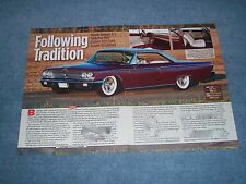 "1963 Fod Galaxie XL Fastback Mild Custom Article ""Following Tradition"""