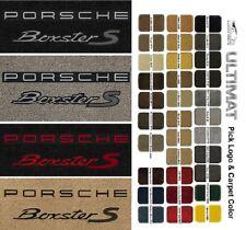Lloyd Mats Porsche Boxster S Double Logo Front Floor Mats (2000 & Up)