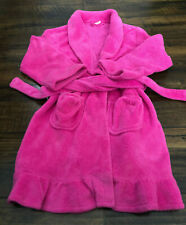 Circo Pink Kid's Girl's 10-12 Large HouseCoat Bath Robe Flame Resistant