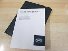 service book RANGE ROVER P38  HANDBOOK   OWNERS MANUAL 1998-2004