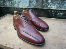 Cheaney Oxford Hombre Zapatos – café/bronceado – UK 9 – Excelentes Condiciones