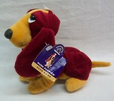 Applause Hush Puppies Chantilly Rust Basset Hound Dog Plush Stuffed Animal